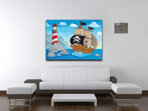 Lighthouse theme image 5 Canvas Print or Poster - Canvas Art Rocks - 4