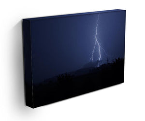 Lightning Flash Print - Canvas Art Rocks - 3