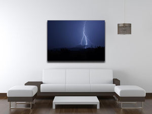 Lightning Flash Print - Canvas Art Rocks - 4