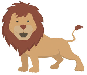 Lion Wall Decal - Canvas Art Rocks - 3