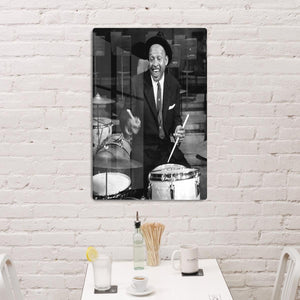 Lionel Hampton on the drums HD Metal Print - Canvas Art Rocks - 3