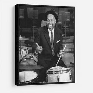 Lionel Hampton on the drums HD Metal Print - Canvas Art Rocks - 6