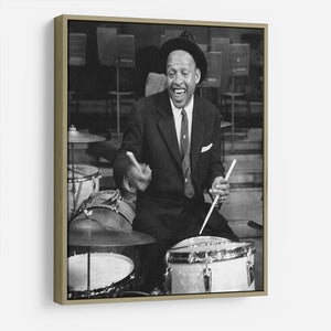 Lionel Hampton on the drums HD Metal Print - Canvas Art Rocks - 8