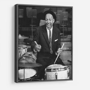 Lionel Hampton on the drums HD Metal Print - Canvas Art Rocks - 9
