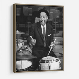 Lionel Hampton on the drums HD Metal Print - Canvas Art Rocks - 10