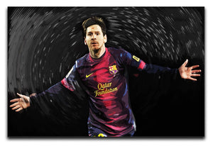 Lionel Messi Print - Canvas Art Rocks - 1