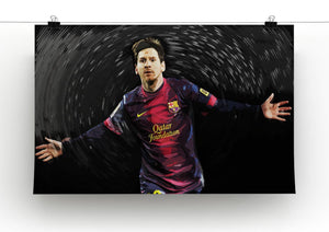 Lionel Messi Print - Canvas Art Rocks - 2