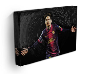 Lionel Messi Print - Canvas Art Rocks - 3