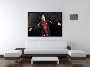 Lionel Messi Print - Canvas Art Rocks - 4
