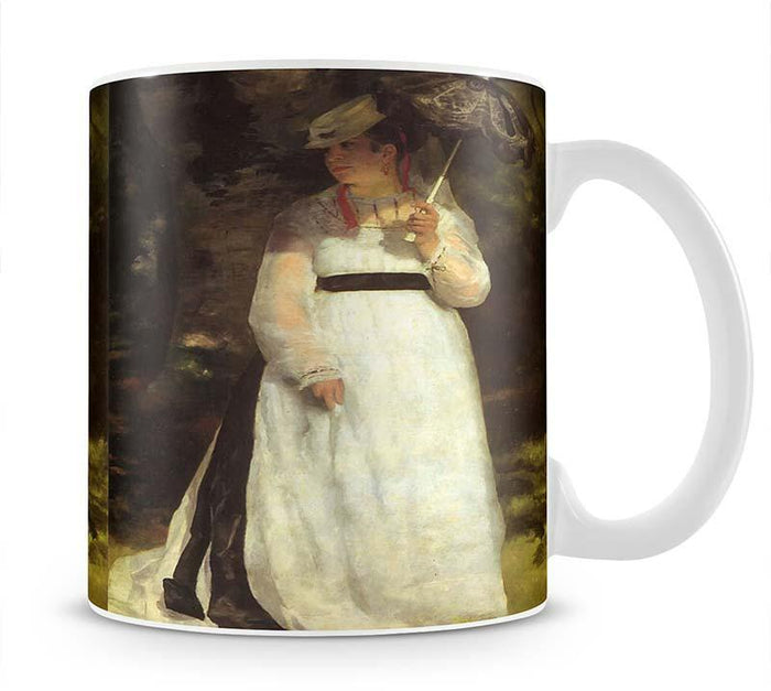Lise with an Umbrella by Renoir Mug
