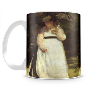 Lise with an Umbrella by Renoir Mug - Canvas Art Rocks - 2