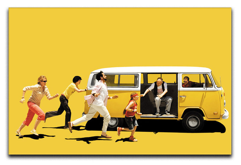 Little Miss Sunshine Print - Canvas Art Rocks - 1