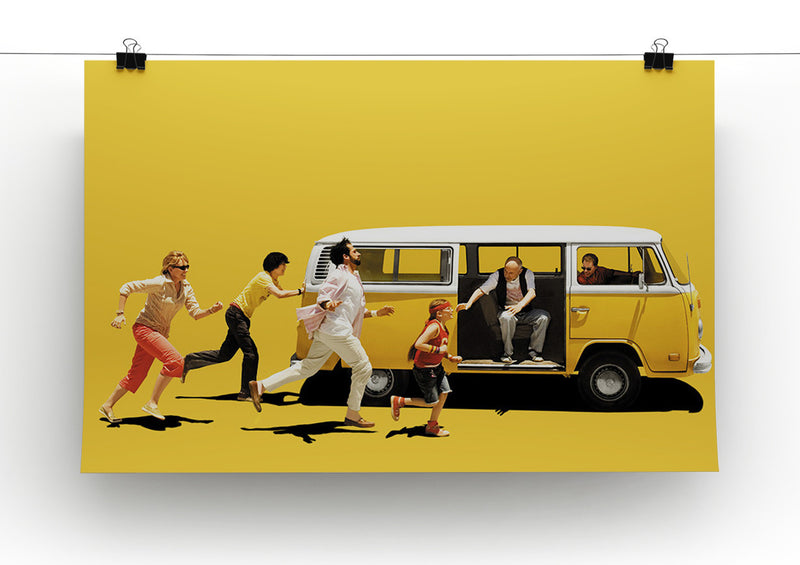 Little Miss Sunshine Print - Canvas Art Rocks - 2