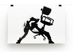 Banksy London Calling Print - Canvas Art Rocks - 2