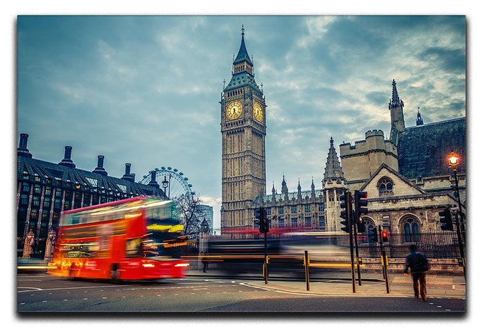 London at early morning Canvas Print or Poster