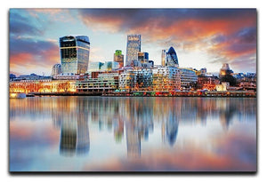 London skyline Canvas Print or Poster  - Canvas Art Rocks - 1