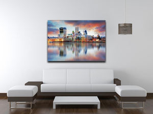 London skyline Canvas Print or Poster - Canvas Art Rocks - 4