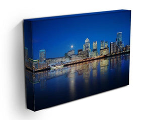 London skyscrapers reflected Canvas Print or Poster - Canvas Art Rocks - 3