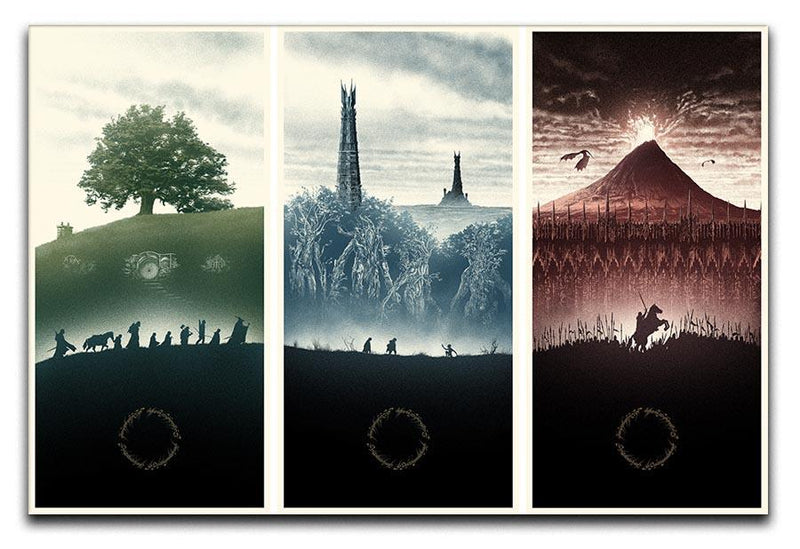 Lord Of The Rings Story Canvas Print or Poster  - Canvas Art Rocks - 1
