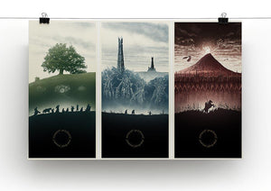 Lord Of The Rings Story Canvas Print or Poster - Canvas Art Rocks - 2