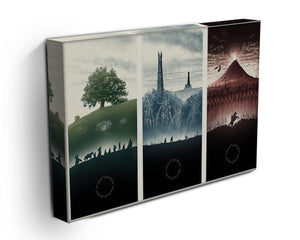 Lord Of The Rings Story Canvas Print or Poster - Canvas Art Rocks - 3