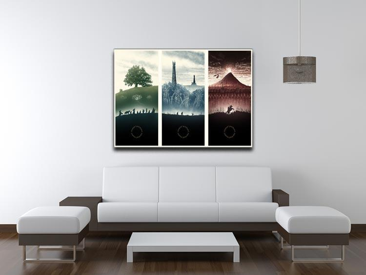 Lord Of The Rings Story Canvas Print or Poster - Canvas Art Rocks - 4