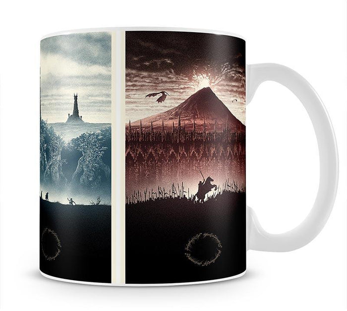 Lord Of The Rings Story Mug