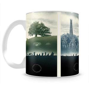 Lord Of The Rings Story Mug - Canvas Art Rocks - 2