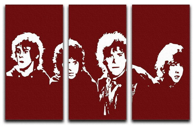 Lord of the Rings Pop Art 3 Split Panel Canvas Print - Canvas Art Rocks - 1