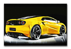 Lotus Esprit Print - Canvas Art Rocks - 1