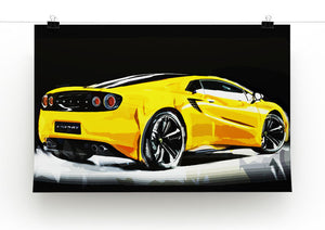 Lotus Esprit Print - Canvas Art Rocks - 2