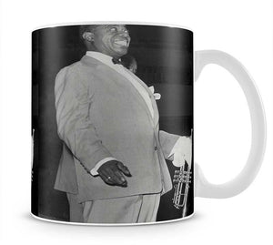 Louis Armstrong in concert Mug - Canvas Art Rocks - 1