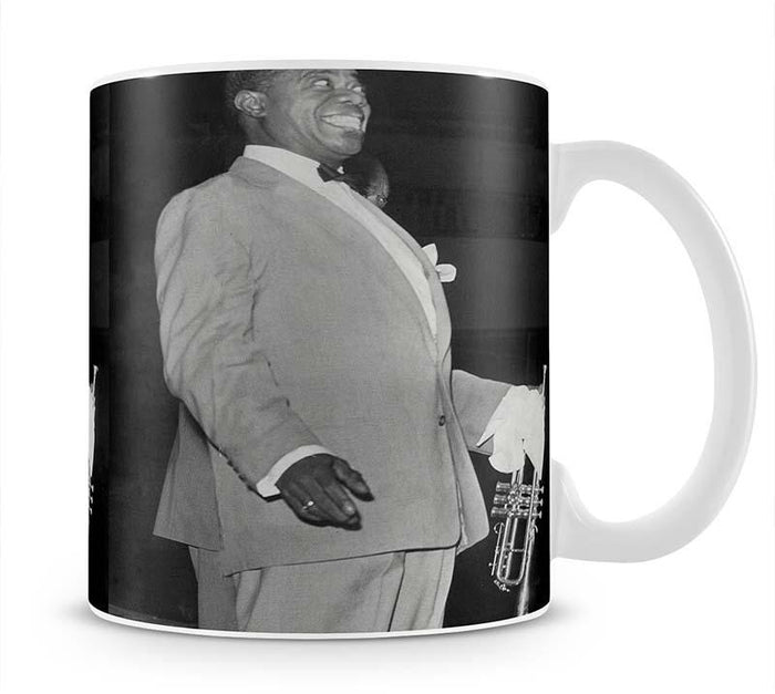 Louis Armstrong in concert Mug