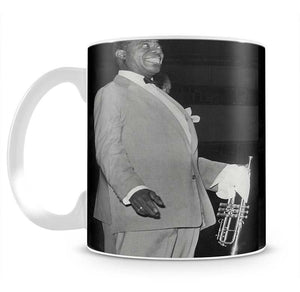 Louis Armstrong in concert Mug - Canvas Art Rocks - 2