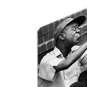 Louis Armstrong with kids HD Metal Print - Canvas Art Rocks - 4