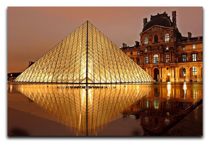 Louvre Museum Canvas Print or Poster