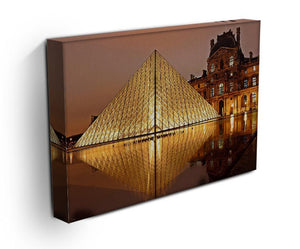 Louvre Museum Print - Canvas Art Rocks - 3
