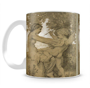 Loves Resistance By Bouguereau Mug - Canvas Art Rocks - 2