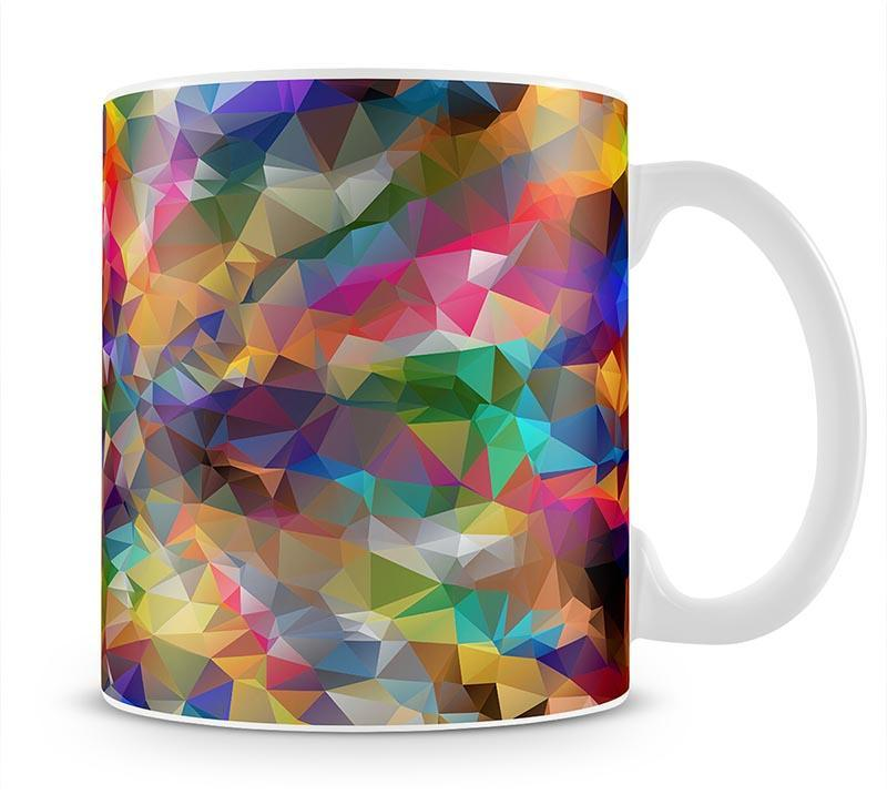 Low Poly Mug - Canvas Art Rocks - 1