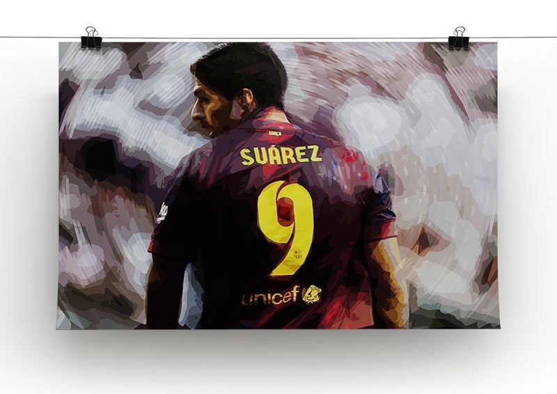 Luis Suarez Barcelona Canvas Print or Poster - Canvas Art Rocks - 2