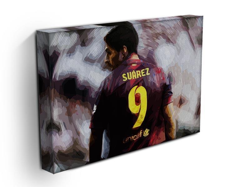 Luis Suarez Barcelona Canvas Print or Poster - Canvas Art Rocks - 3