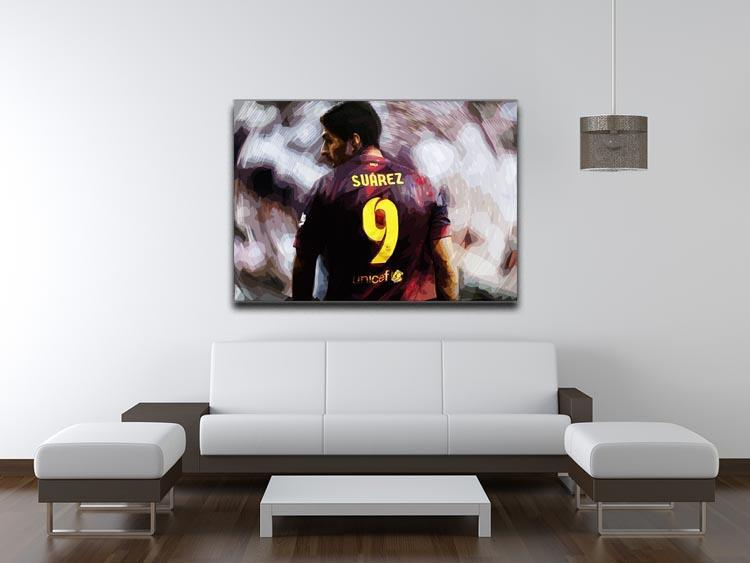 Luis Suarez Barcelona Canvas Print or Poster - Canvas Art Rocks - 4