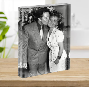 Lulu and Tom Jones Acrylic Block - Canvas Art Rocks - 2