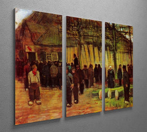 Lumber Sale by Van Gogh 3 Split Panel Canvas Print - Canvas Art Rocks - 4