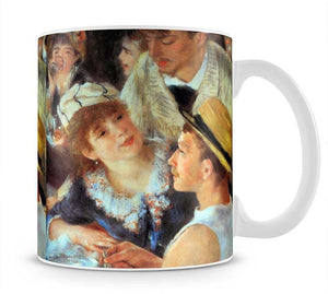 Lunch on the boat party detail by Renoir Mug - Canvas Art Rocks - 1