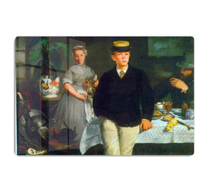 Luncheon by Manet HD Metal Print