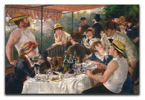 Luncheon of the Boating Party by Renoir Canvas Print or Poster  - Canvas Art Rocks - 1