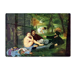Luncheon on The Grass 1863 by Manet HD Metal Print