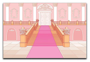 Luxury staircase in the magic palace Canvas Print or Poster  - Canvas Art Rocks - 1