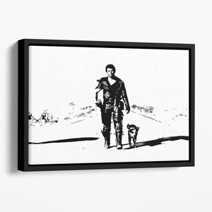 Mad Max Floating Framed Canvas